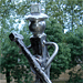 Le faucheur - Sculpture en fer forgé (2010)