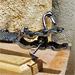 Le crocodile - Sculpture métalique (2012)