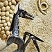 Le cheval - Sculpture créée grâce à de vieux outils (2011)