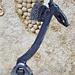 La girafe - Sculpture réalisée avec un vieil outil (2012)