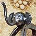 L'éléphant - Sculpture de Michel Bellon (2011)