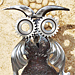 Le hibou - Sculpture de Michel Bellon (2011)