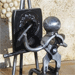 Le peintre - Sculpture métalique
