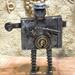 Le serrurier - Sculpture métalique